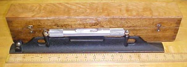 Starrett Bench Level Plumb No. 98-18