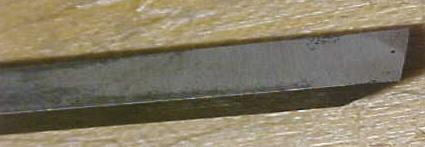 Sorby Tanged Firmer Chisel 3/16 inch