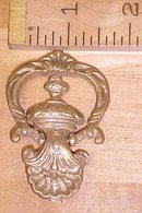 Antique Drawer Pulls Ornate Hardware Brass Hinged
