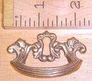 Antique Drawer Pulls Ornate Hardware Brass Key Hole