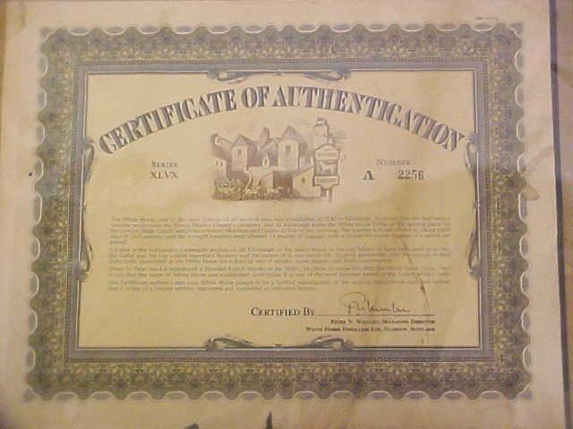 The White Horse Established 1742 Sign Signed