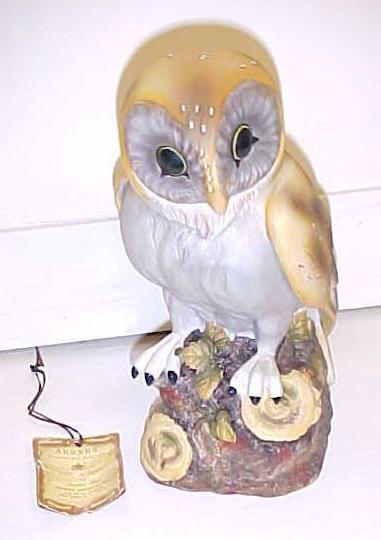 Owl Porcelain Figurine by Jonathon Byron