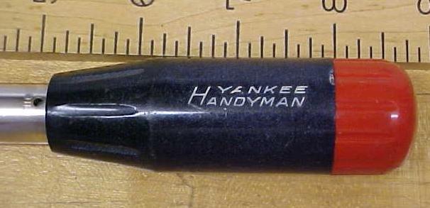Stanley Handyman Yankee Push Drill No. 46 w/8 Bits