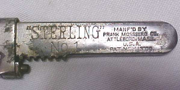 Mossberg Sterling No. 1 Bicycle Wrench