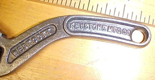 Keystone Westcott 6 inch S-Handle Adjustable Wrench