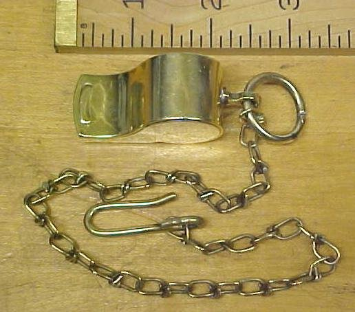 Whistle Brass Meyer WWII Military w/Chain