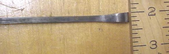 Antique Bent Front Gouge Chisel 5/16 inch