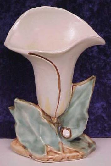 McCoy Lily Vase 8 inch Art Pottery