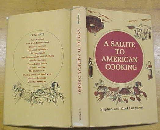 A Salute To American Cooking Cookbook