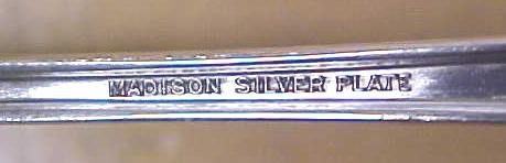 Madison Gravy Ladle Silver Plate