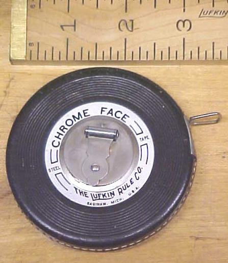 Lufkin Tape Measure 50 Foot Anchor JR. Leather