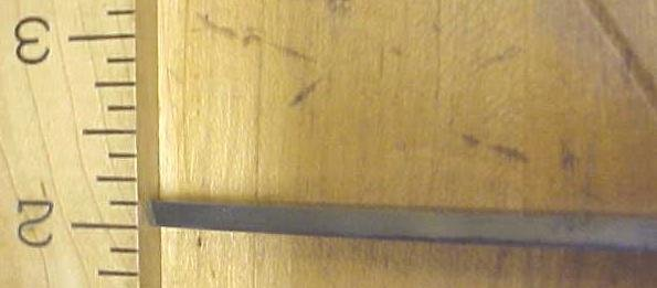 Van Camp Socket Mortise Chisel 5/32 inch