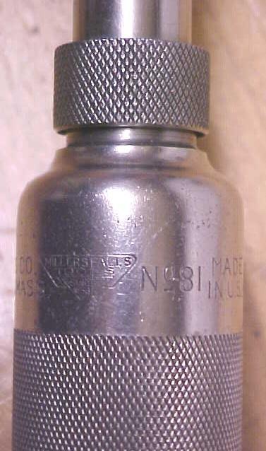 Millers Falls Push Drill No. 81 Yankee Style Rare!
