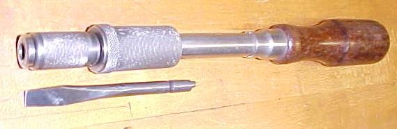 Goodell-Pratt Screwdriver Spiral Ratchet No. 811A