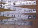 Steel Zig-Zag Rule Made in Germany 72 inch Folding