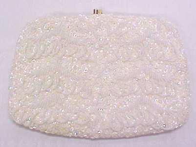 Evening Wedding Bag Purse Beads Sequins