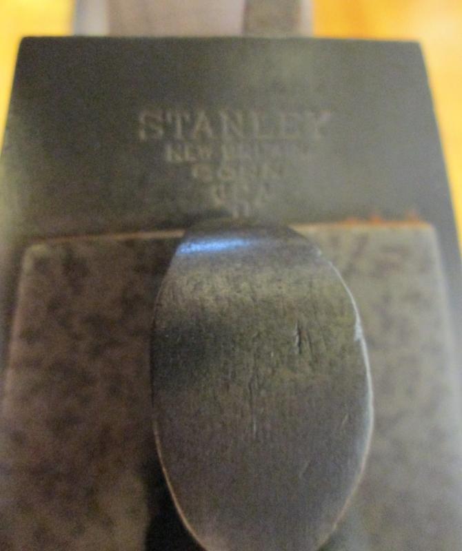 Stanley Plane Handle/Tote & Short Knob No. 5, 6, 7, 8 Walnut Replacement