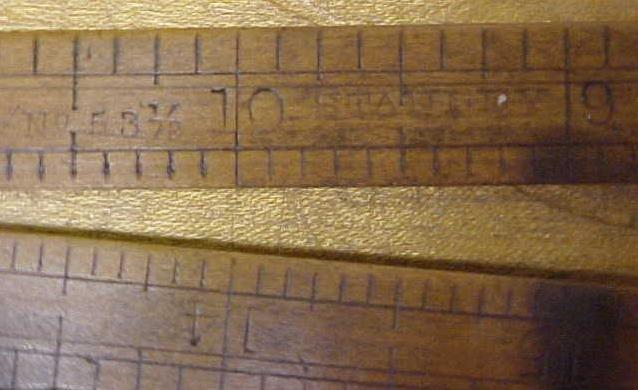 Stanley Architect's Rule No. 53 1/2 Beveled Folding