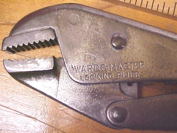 Wards Master Vise Grip Type Pliers 1950's