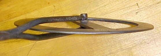 Wheelwright's Traveler Hand Forged Iron