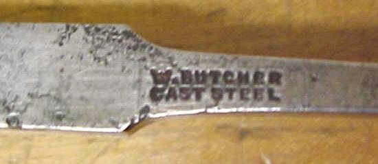 Butcher Tanged Firmer Chisel 3/8 inch