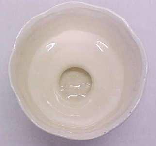 Planter Blue Pedastal Bowl Nice Color