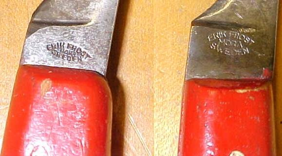 Erik Frost Knife Blacksmiths Hoof Care Knives