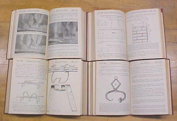 Audels Masons & Builders Guide 4 Vol 1924 1st Ed.