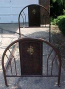Antique Metal Bed Frame Twin Size