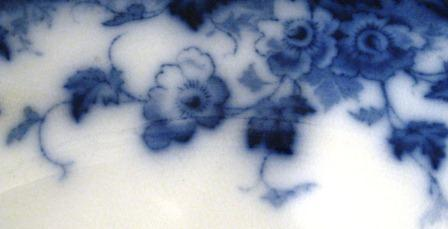 Flow Blue Vermont 9 Inch Bowl