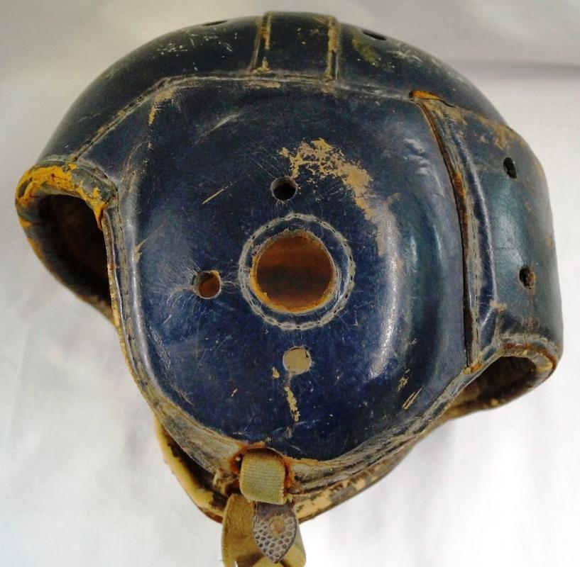 Spalding 1920's - 1930's era Leather Football Helmet 39FH