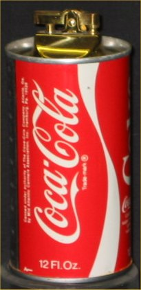 Coca Cola Can Table Top Lighter