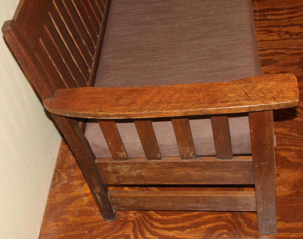 18307 Original Condition Mission Couch Sofa