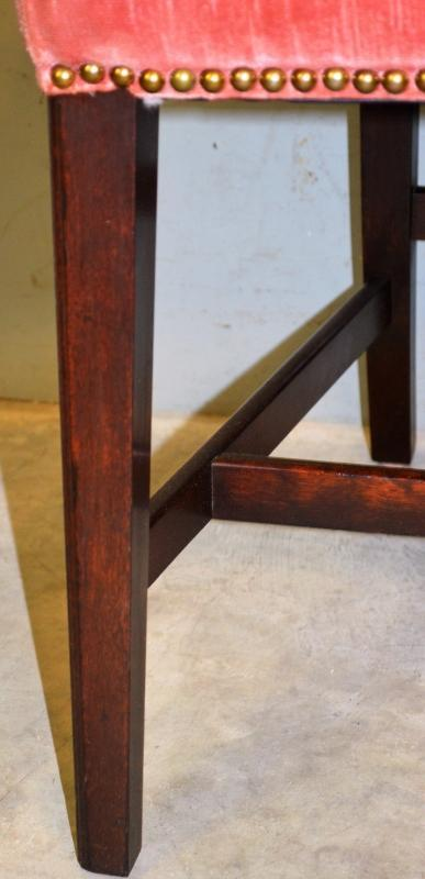 19762 Set of 7 Mahogany Formal Chairs – Twin Arms!
