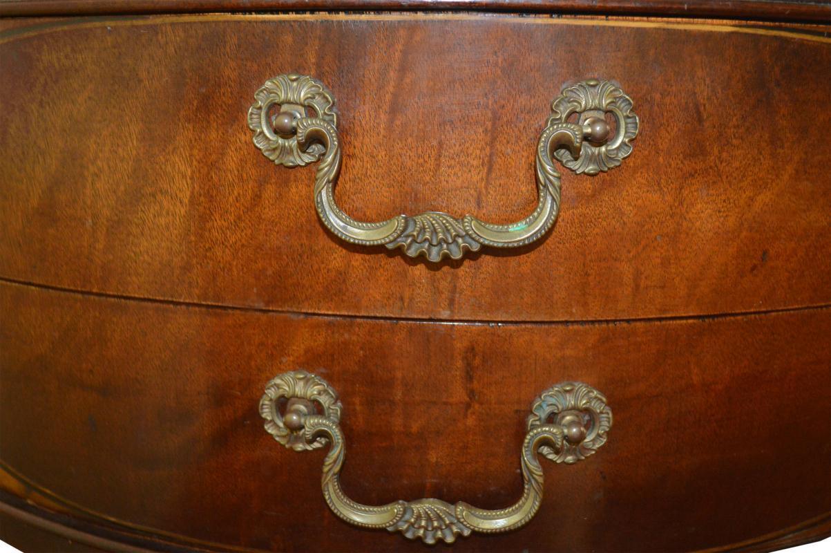 18239 Custom Mahogany Formal Drum Table – Duncan Phyfe