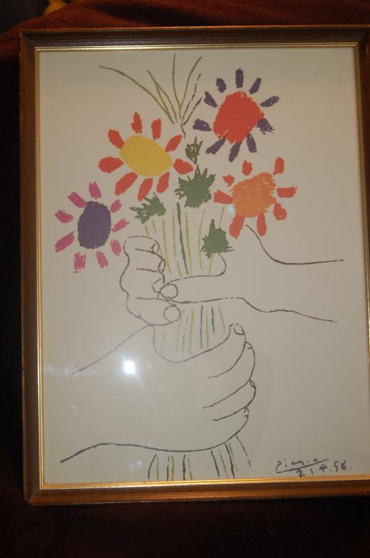 SIGNED PICASSO!!