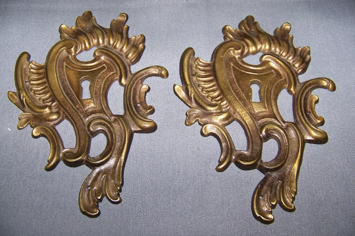 Large, Keyhole Covers / Escutcheons
