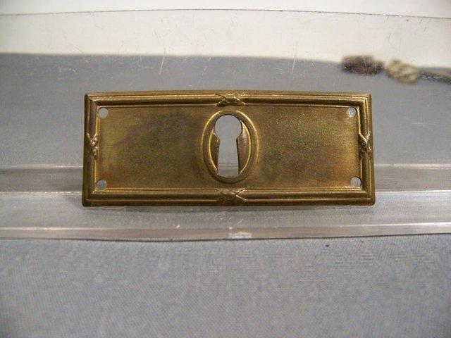 Escutcheons -Keyholes
