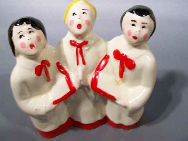 Ceramic Choir Figures -