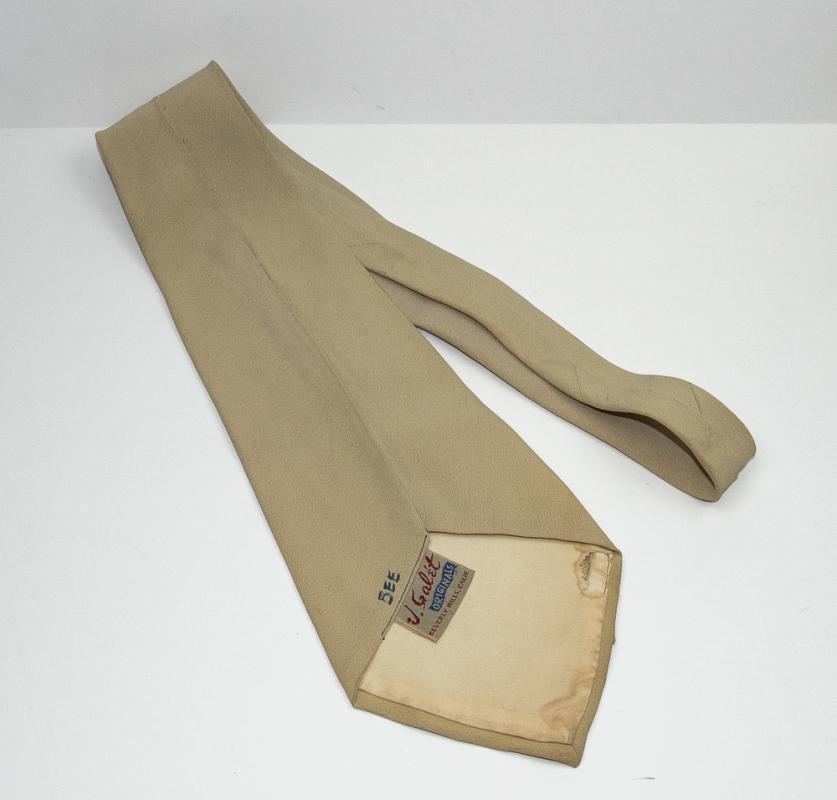 VINTAGE 1940s/50 NECKTIE by V. Galet - Beverly Hills
