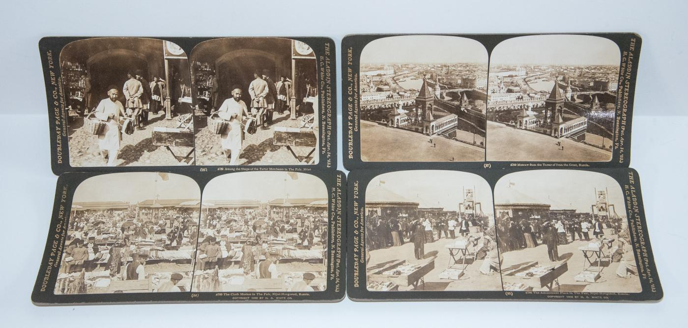 STEREOVIEWS - BOX SET OF 50 OF RUSSIA