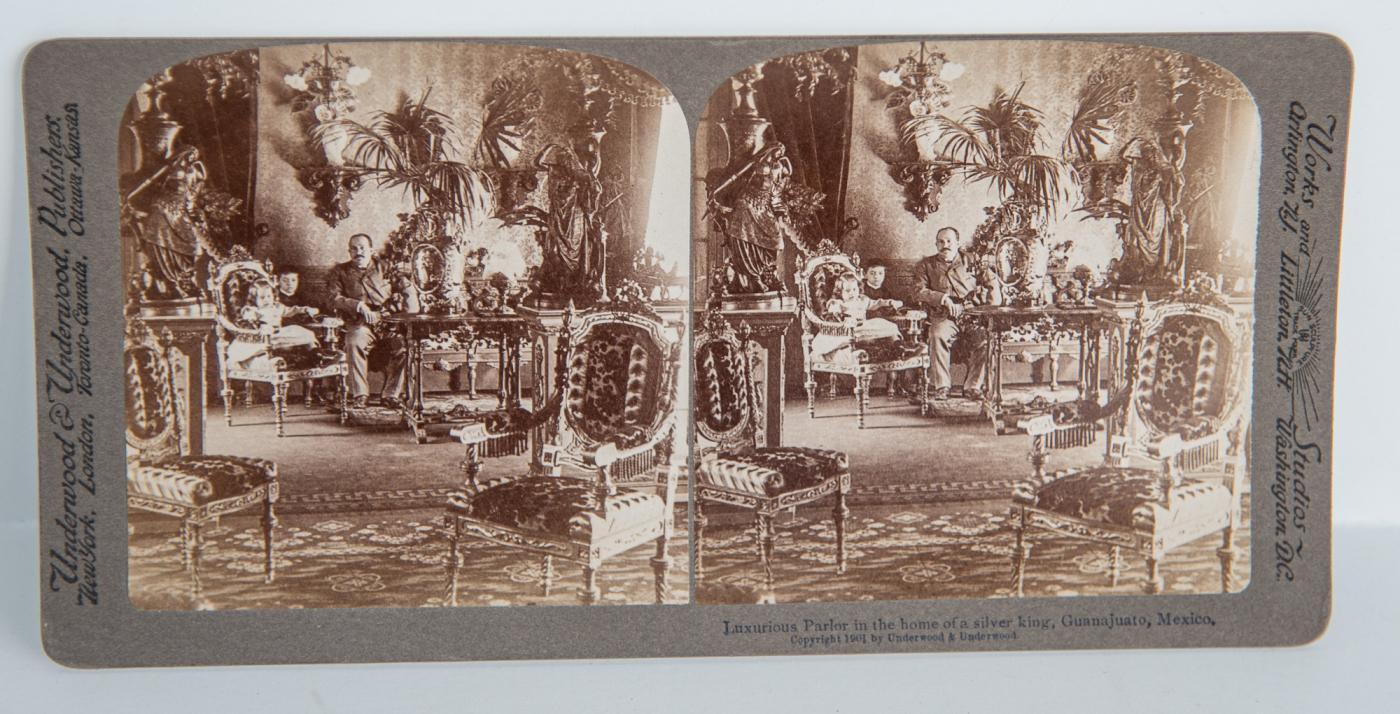 BOX SET of 99 STEREOVIEWS oF MEXICO
