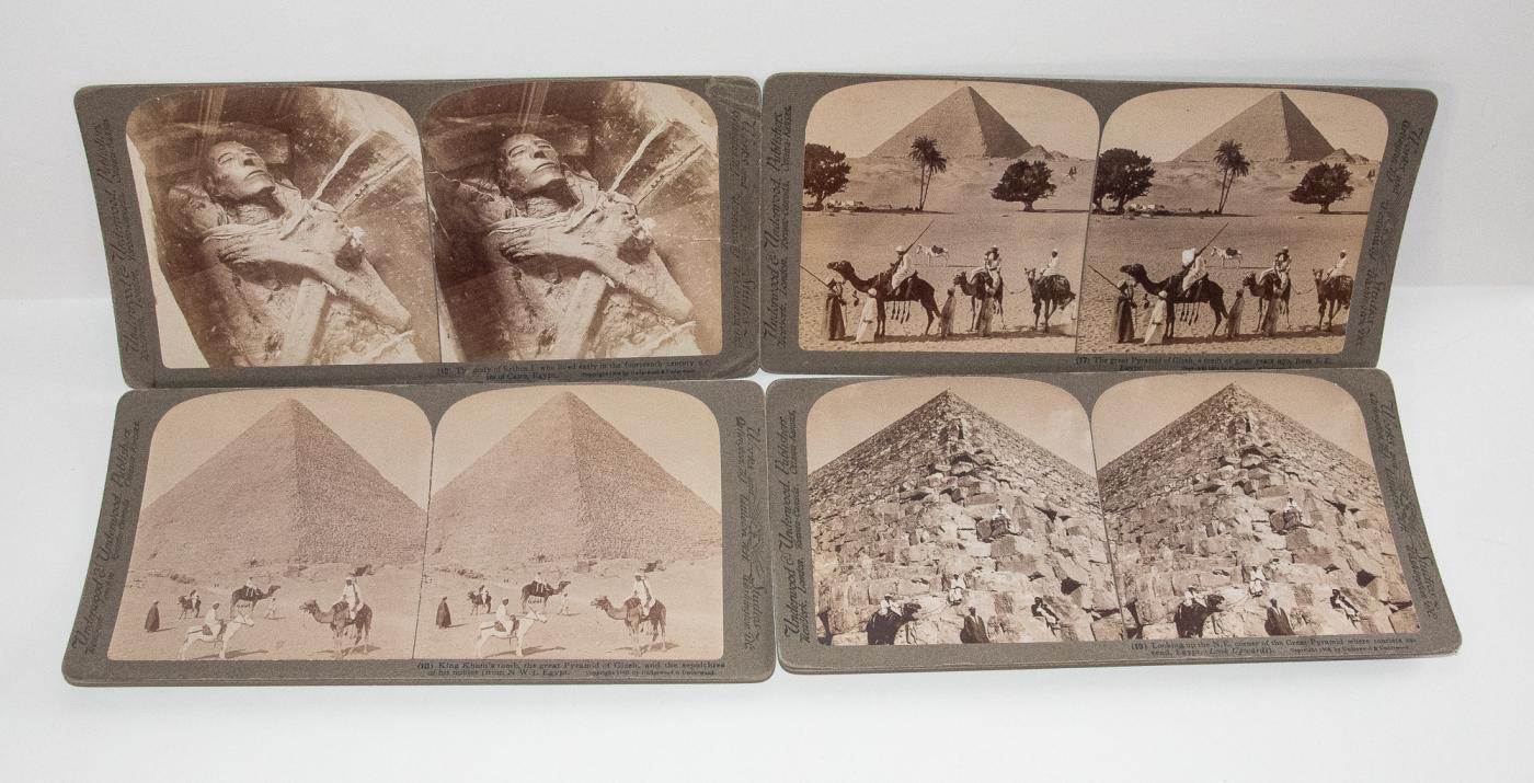 STEREOVIEWS - EGYPT BOX SET OF 99
