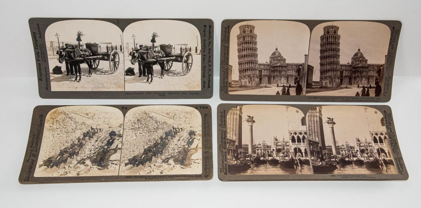 STEREOVIEWS - ITALY -  BOX SET OF 99