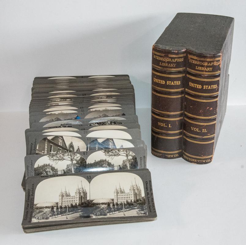 STEREOVIEWS - UNITED STATES - BOX SET OF 85