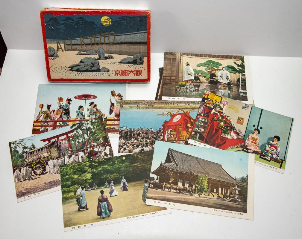Set of Vintage Japanese Post Cards