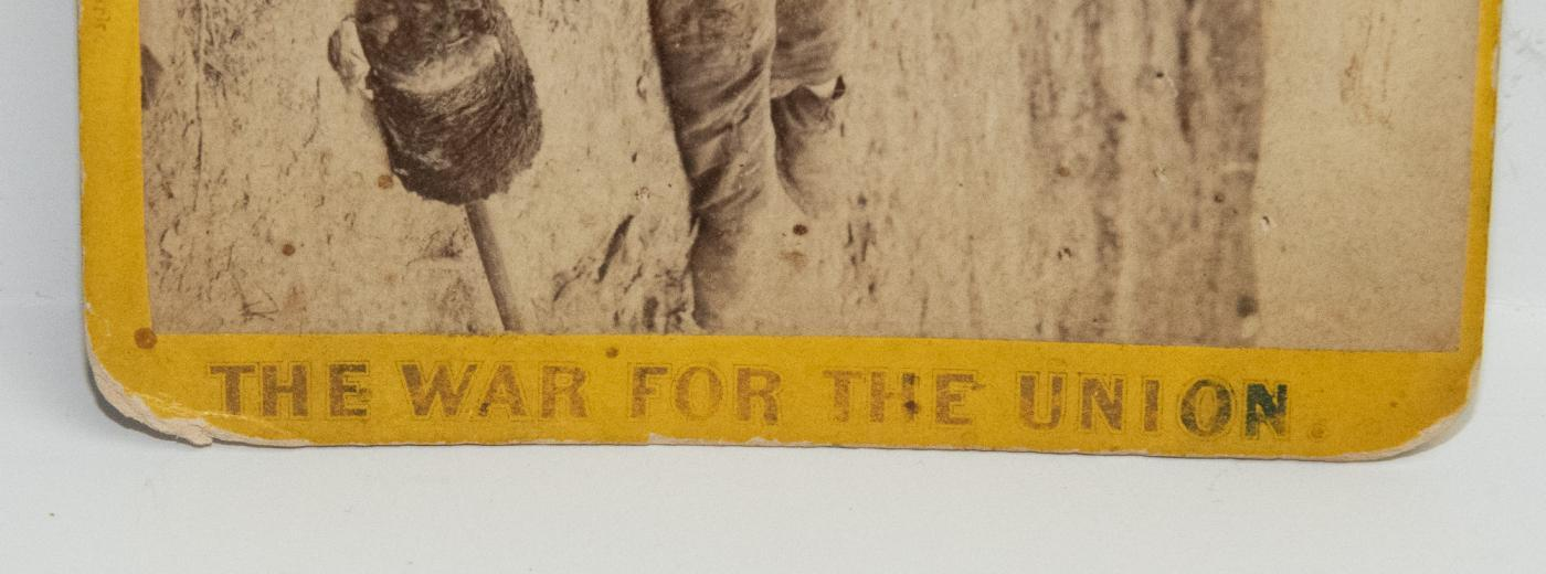CIVIL WAR STEREOVIEW -