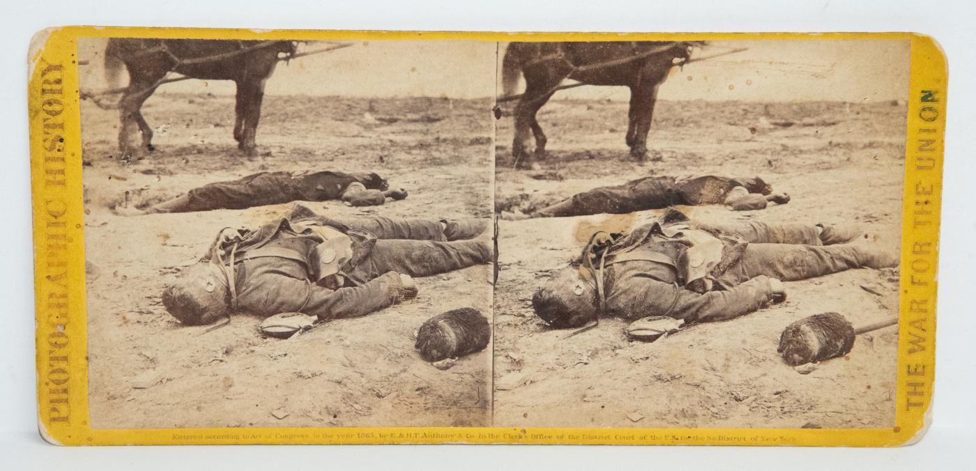 CIVIL WAR STEREOVIEW -