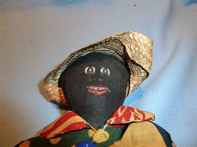 PRIMITIVE BLACK MALE RAG DOLL