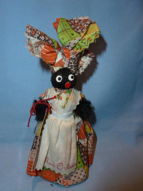 VINTAGE  SOUVENIR BELL DOLL FROM NEW ORLEANS